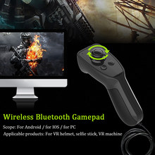 For Android Mini Home Gaming Joypad Wireless Bluetooth Gamepad Virtual Reality Universal Mobile Phone Remote Controller Portable(China)