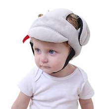 Protector Helmet Toddler Baby Kids Walking Cotton Play Adjustable Safety-Head No-Bumps