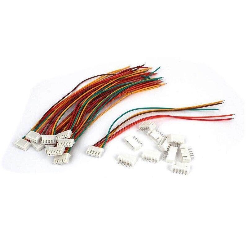 15cm RC 4S Lipo Balance Charger Cable Extension Lead Connector 10 Pcs