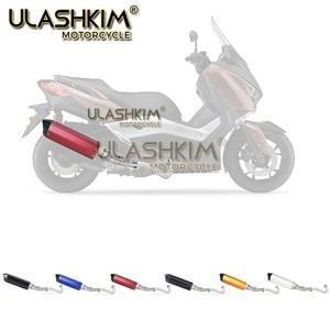 Image 3 - Motocykl pełny System wydechowy tłumik rura z łączem pośrednim Slip On dla yamaha XMAX300 XMAX250 XMAX400 2017 2018