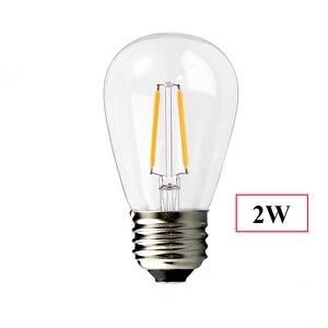 Image 5 - Thrisdar 10M S14 String Light With 10PCS E27 LED Retro Edison Filament Bulb Outdoor Street Garden Patio Holiday Garland Light