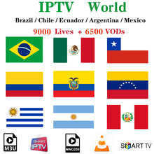 Stable IPTV m3u Subscription World Full HD Spain France Portugal Iptv m3u Subscription xxx Hot Channel for Smart tv Android Box(China)