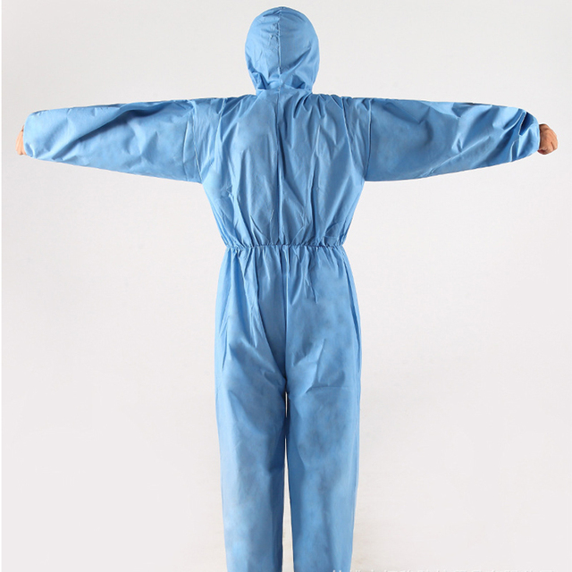 Protective Clothing Waterproof ppe suit Protective Gown Clothing FluidResistant Impervious 1