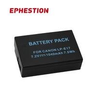 EPHESTION LPE17 LP E17 LP E17 Camera Battery For Canon EOS M3 M6 200D 750D 800D 8000D 760D T6i T6s Kiss X8i High Capacity|Digital Batteries| |  -
