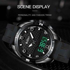 Image 2 - Relogio Masculino męskie sportowe zegarki kwarcowe cyfrowy zegarek led w stylu wojskowym mężczyźni Casual elektronika zegarki na rękę Relojes
