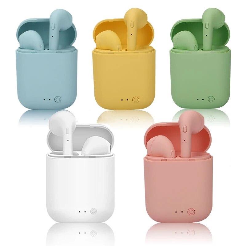 Mini 2 TWS Bluetooth Wireless Headphones Headset Sports Earphones Stereo Earbuds With Mic Charging Box PK Mini-2 i9s i12 Xiaomi