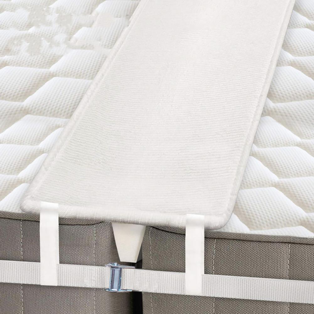 Bed Bridge Mattress Connector Twin To King Converter Kit Metal Bed Gap Filler Two Single Mattress Connector For Home Hotel