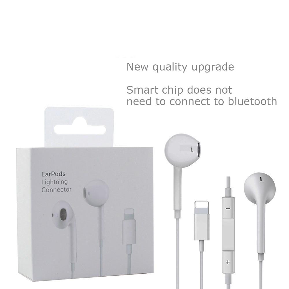 Проводные наушники с микрофоном в ухо стерео музыкальные наушники спортивные наушники для iPhone 8 7 Plus X XS MAX Наушники и гарнитуры      АлиЭкспресс