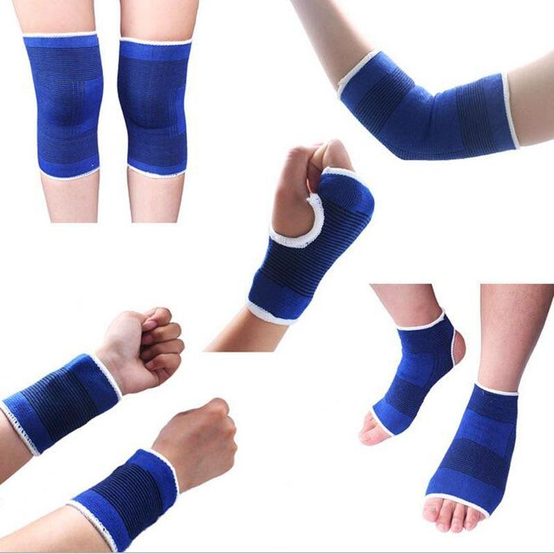 2pcs Elastic Knee Protection Band Knee Pads Support Brace Leg