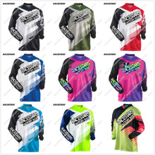 цена на New 2020 MTB Cycling Clothing DH Downhill Jersey Mountain Bike Maillot BMX MX Bicycle Clothes Moto Motocross Shirts Motorcycle