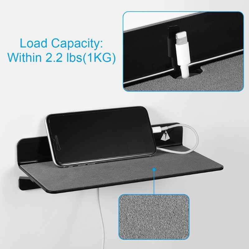 Portable Dinding Mount Braket Meja Rak Pemegang untuk Speaker Ponsel Pengisian Berdiri
