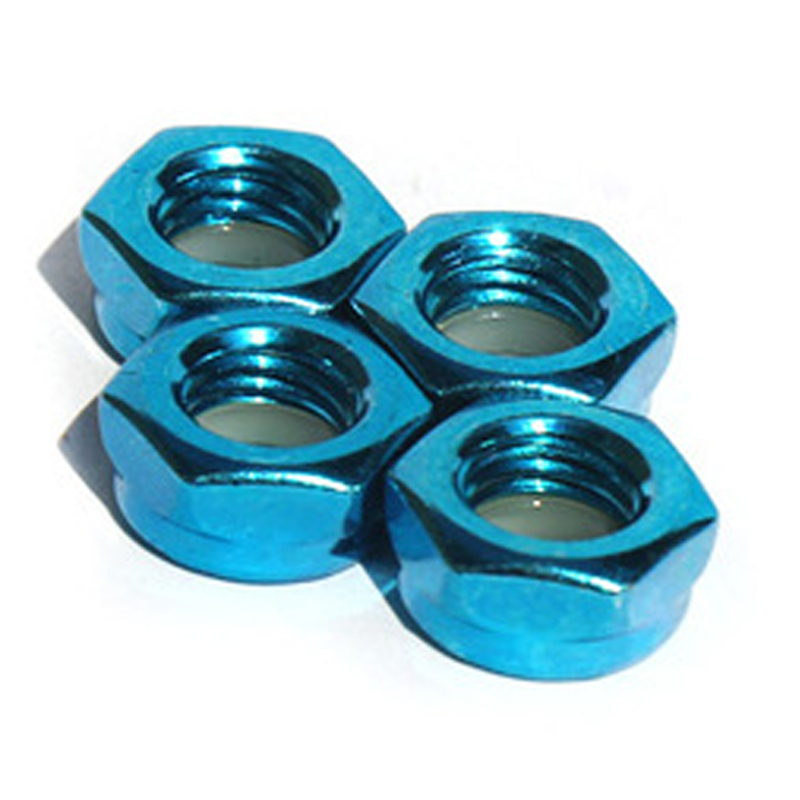 4pcs/lot Skateboard Truck Side Nut Skateboard Bridge Side Nut Electric Long Board Nut Parts Free Shipping