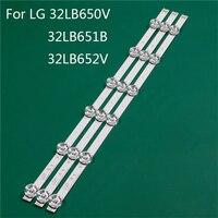 Remplacement de pièce d'éclairage TV de LED pour LG 32LB650V ZE 32LB651B ZC 32LB652V ZA règle de ligne de bande de rétro éclairage barre de LED DRT3.0 32 A B|Perles lumineuses| |  -