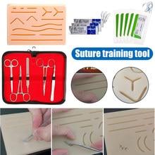 Kit de sutura com tudo incluído para desenvolver e refinar técnicas de sutura wwo66