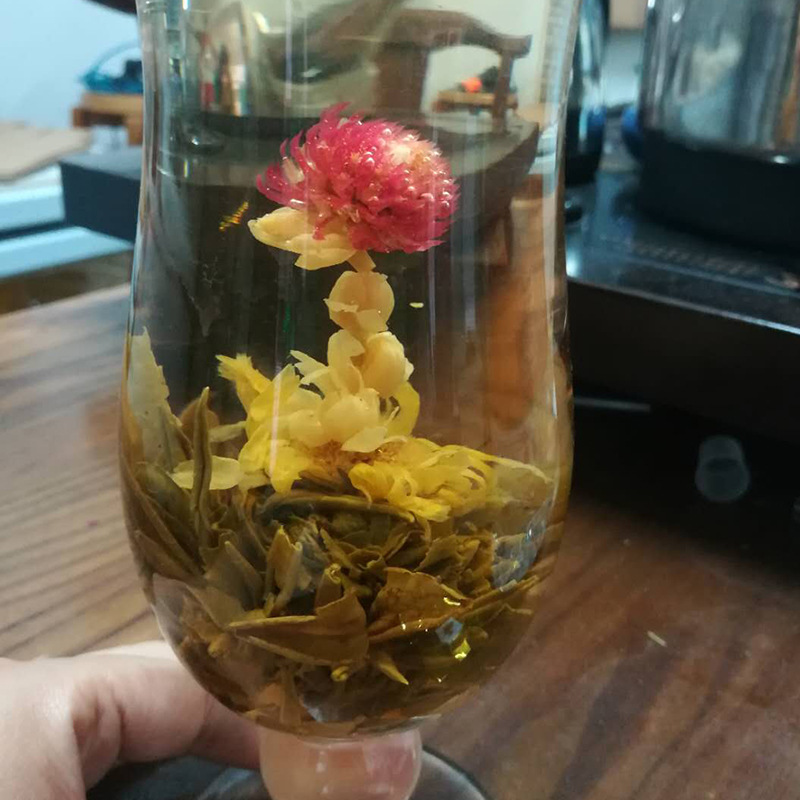 16 Kinds of Handmade Blooming Flower Tea 140g Chinese Ball blooming Flower Herbal Artistic The Tea For Health Care Products Tea 1