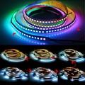 Светодиодная лента Neopixel WS2812B WS2812, Адресуемая светодиодная смарт-лента RGB 5050, Светодиодная лента постоянного тока 5 В, 12 В, умная Пиксельная Св...