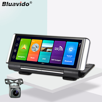 10 25 android 7 1 os 2g ram 32g rom car gps navi radio for bmw 5 series f10 f11 2011 2016 with bt dvr swc wifi recorder Bluavido 7 Inch 4G Android 8.1 Car DVR GPS 2G RAM FHD 1080P video recorder Dual Lens Dashboard Camera WiFi App remote Monitoring