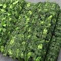 Искусственный листья плюща, 1 м, забор для конфиденциальности, садовый забор, зеленые растения, трава, настенный магазин в отеле, Рождественс...