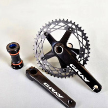 Crankset Fixed-Gear 165mm BCD144 Single-Speed Sprocket Bicycle-Chainwheel TRACK Alumniun