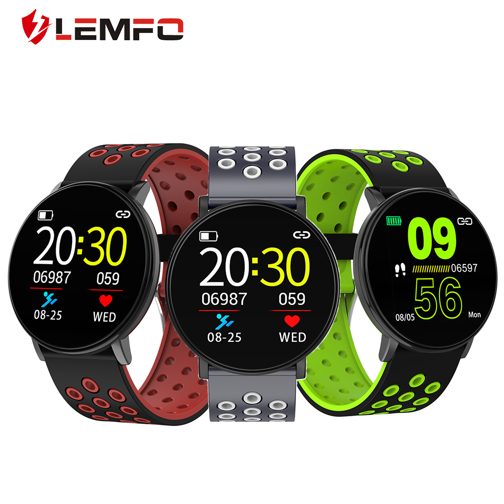LEMFO Smart Watch Men 2020 New Triaxial Gravity Sensor Data Storage Intelligent Anti Lose Sports Mode Smartwatch for Android IOS