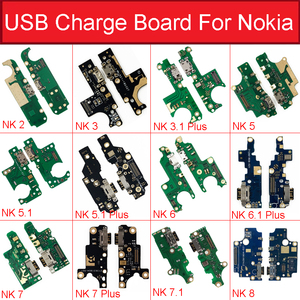 Image 1 - Charger USB Jack Board For Nokia 2 2.1 3 3.1 Plus 5 5.1 6 6.1 7 7.1 Plus 8 Charging USB Port Board Module Replacement Parts