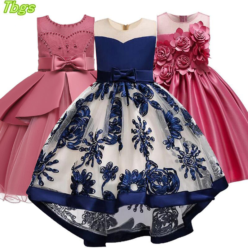 Girls Dress 2020 New Lace Embroidery Princess Birthday Party Dress Girls Flower Wedding Gown Formal Dress Kids Dresses For Girls Dresses Aliexpress,Wedding Guest Simple Rose Gold Casual Dress