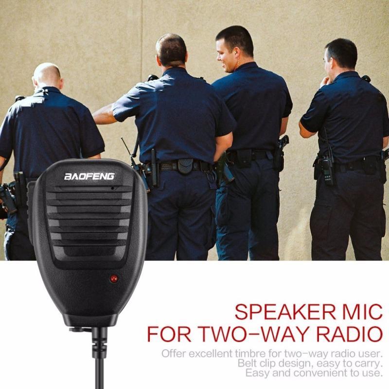 Динамик микрофона микрофон для Baofeng 888S 5R UV82 8D 5RE 5RA динамик микрофон гарнитуры двухстороннее радио Портативный аудио