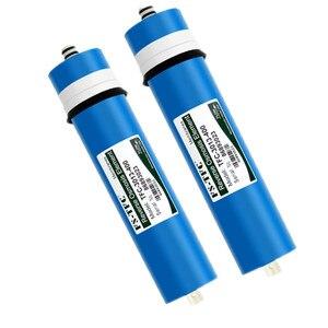 2 pçs 400 gpd filtro de água da cozinha fs TFC-3013-400G ew filtros de membrana para cartuchos de água ro sistema filtro membrana