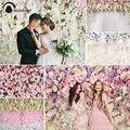 Фон Allenjoy для свадебной церемонии, настенный фон, роза, цветок, занавеска, день рождения, фон для фотостудии, фотосессия