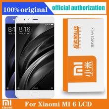 """원래 5.15 """"Xiaomi MI 6 LCD 디스플레이 화면 Xiaomi Mi6 디스플레이 교체 부품에 대 한 프레임 + 터치 스크린 디지타이저"""