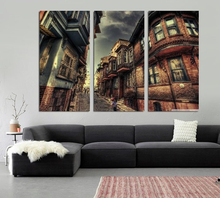 Modern Colorful Photo Picture Istanbul Room Decor 3 Pcs Cities Canvas Art Painting Living Bedroom