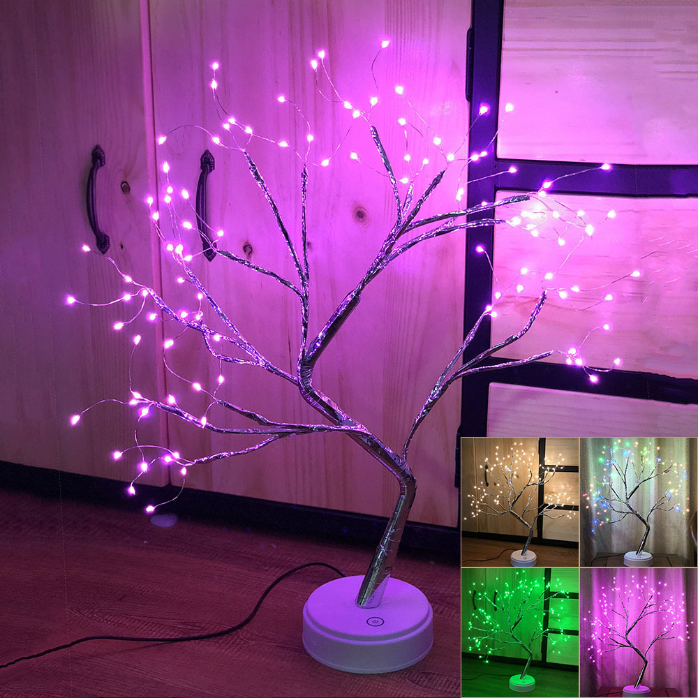 108LEDs Christmas Birch Tree Lights Xmas Branches Twig Night Light Home Decor