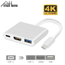 USB C HDMI Cable 4K Type C HDMI USB 3.1 Converter Adapter Ty