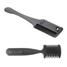 Razor Comb Hair Cutter Comb Cutting Scissors Hair Comb for Trimming Home & Salon Use Dual Side Cutting Scissors