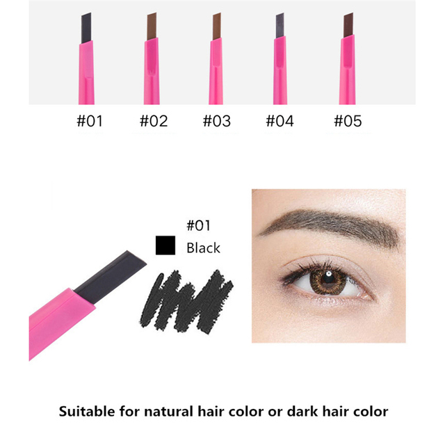 Eyebrow pencil waterproof crayons Sourcil eyebrow pencil long-lasting makeup beauty Lapiz De Ojos Crema Kosmetyki 3