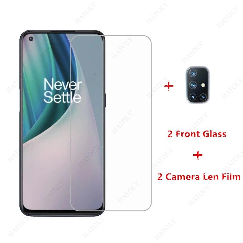 2 шт. для Oneplus Nord N10 Стекло закаленное Стекло для Oneplus Nord N10 5G Экран протектор Камера Len плёнки для OnePlus Nord N100 8T