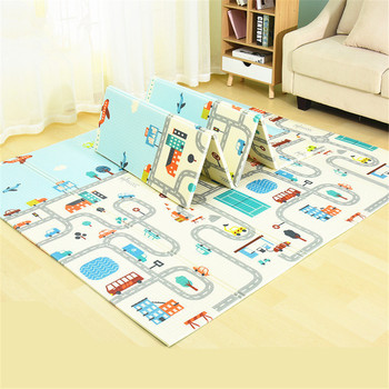 Foldable Baby Play Mat 200*180cm Children Mat Kids Carpet Baby Rug Game Crawling Mat Floor Mat Baby Activities Mat Playmat Baby baby cushion crawling play mat playmat kids gift toy child carpet play soft floor gym rug baby room decoration accessories china