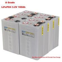8 TEILE/LOS EINE Grade CALB 3,2 V 100Ah CA100 LiFePO4 Batterie Für 24V Hause Solar Energie Lagerung System
