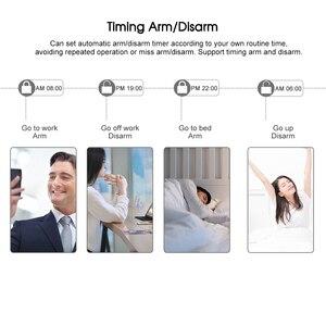 Image 5 - Smart Home WiFi GSM ALARM System รีโมทคอนโทรล Autodial 433MHz APP/Vocie Control Touch แป้นพิมพ์ Amazon alexa