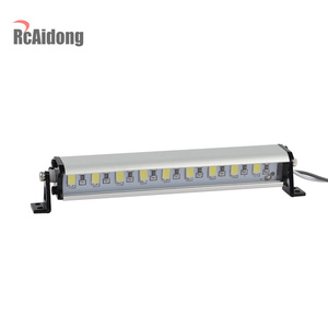 Image 3 - 1/10 RC Crawler Metal 9 LED Light Bar Kit FOR Traxxas Trx4 TAMIYA CC01 Axial SCX10 D90 D110 90046