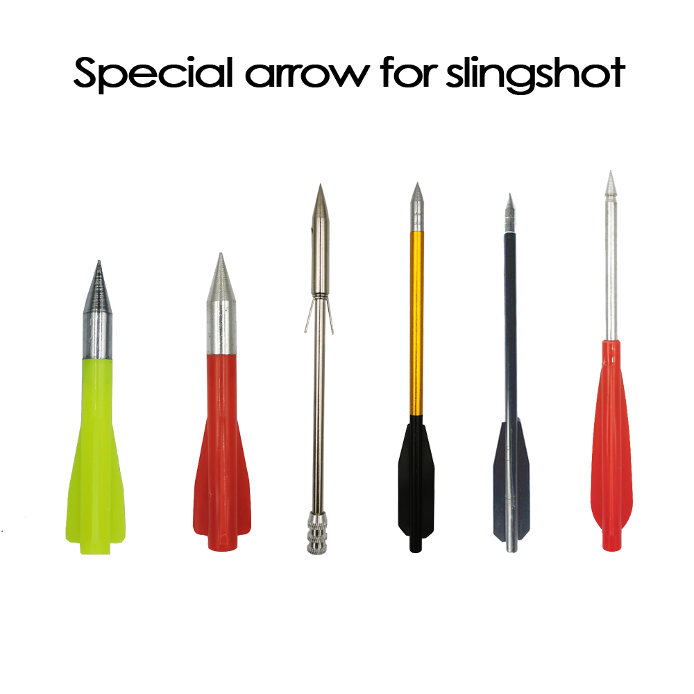 Highquality Slingshot Arrowhead Fishing Slingshot Arrows Special For Catapult Semi-automatic Slingshot Accessories Various Model