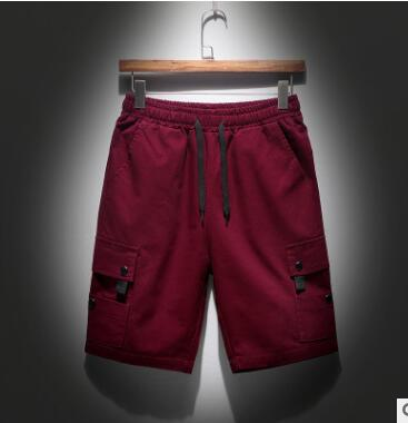 ZNG 2020 New Direct Sale Teenage Short Pants New Summer Pure Color Men's Slim Shorts Men's Casual Pants