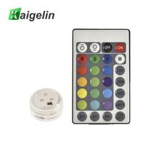 1 шт. IP68 водонепроницаемый многоцветный пульт дистанционного управления погружной светодиодный подводный свет для аквариума пруд и бассейн праздничные Вечерние