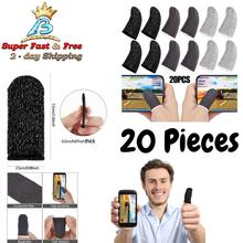 Cots-Accessories Mobile-Game-Sleeve Pubg-Screen Finger Touch-Gloves for 20PCS Breathable