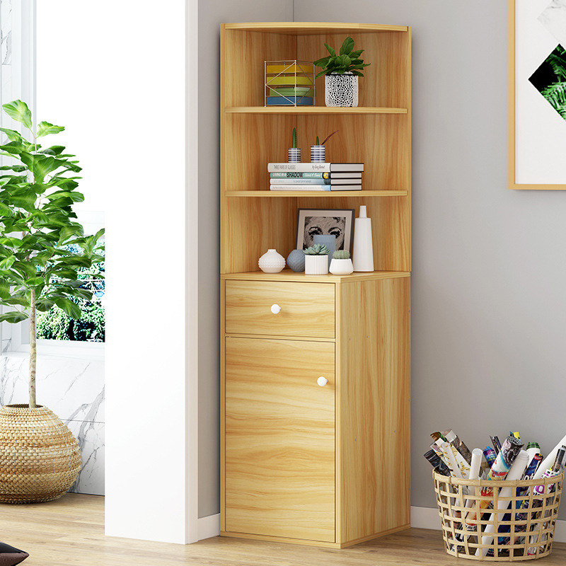 VIP Bookshelf Creative Landing Small Bookcase Minimalist Modern Multi-functional Bookcase Students Multilayer Bookshelf Storage