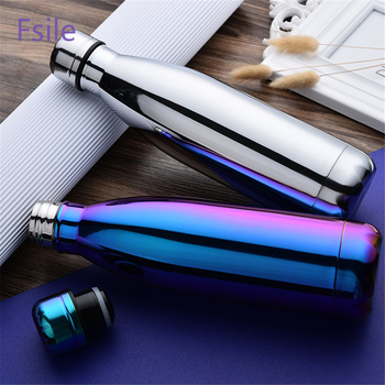 Stainless Steel Thermos Vacuum Insulated Cola Cup Bottle For Water Bottles Double-Wall Outdoor Travel Drinkware Gym Sports Flask 1