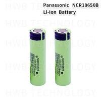 2-20pc 100% New Panasonic Original NCR18650B 3.7v 3400 mah 18650 Lithium Rechargeable Battery Flashlight batteries
