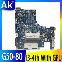 New ACLUC3 ACLU4 NM-A361 NM-A271 Mainboard For Lenovo G50-80 G50-70 G50 80 Laptop Motherboard I3-4th CPU With GPU