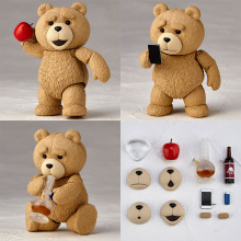 Filme ted 2 figura de ação ted teddy bear figura collectable modelo brinquedo 10cm(China)