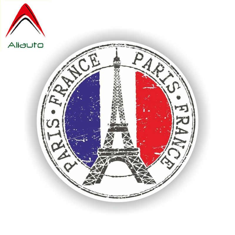 Aliauto おかしいフランスパリ車のステッカーアクセサリービニールデカールカバーマツダ 6 プジョー 206 ランドローバーのため傷、 12 センチメートル * 12 センチメートル